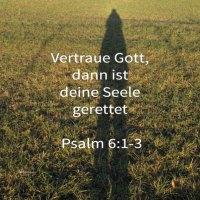 Vertraue Gott und deine Seele ist gerettet (Psalm 6)