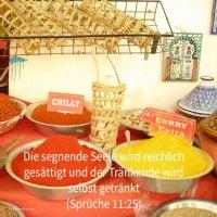 Die segnende Seele wird reichlich gesättigt ( Sprüch 11, 25)