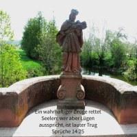 Ein wahrhaftiger Zeuge errettet Seelen; wer aber Lügen ausspricht, ist lauter Trug ( Sprüche 14,25 )