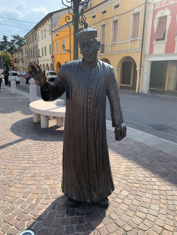 Don Camillo Statue
